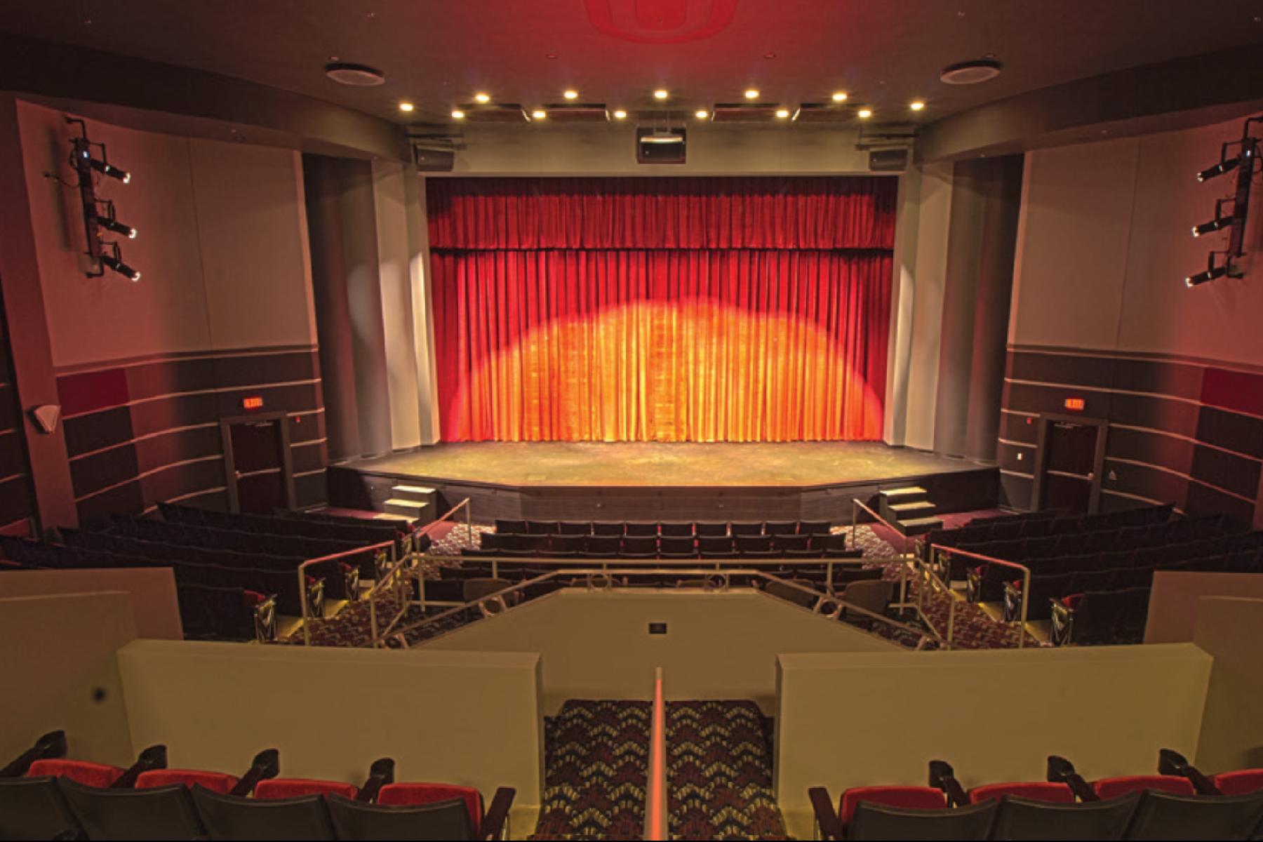 Princeton Theatre auditorium